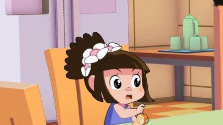 棉花糖和云朵妈妈:棉花糖和毛蓉蓉都要换橘子,都说对方的橘子甜