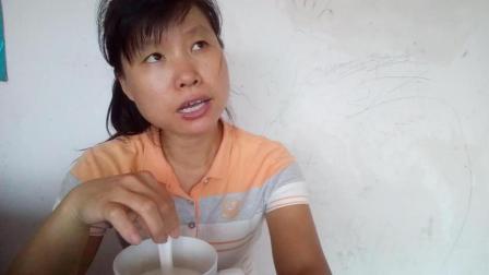 中国吃播视频 牛奶+水晶包+芝麻糖包 边吃边聊芝麻包包子如何才更香