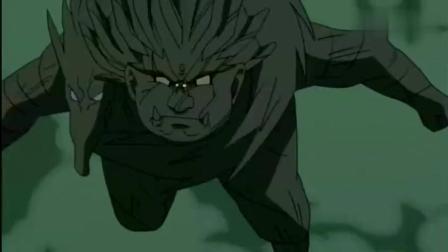 《火影忍者》神仙打架九尾当陪衬, 初代摸头杀让九尾摆脱写轮眼控制