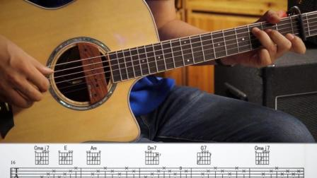 左轮民谣吉他NO.164课 《李健抚仙湖》