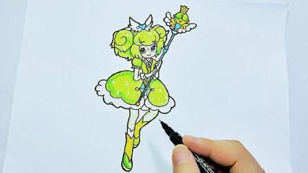 儿童简笔画教程视频之小花仙, 简单漂亮的淑馨简笔画, 步骤详细