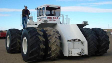 900马力拖拉机! 一分钟犁6亩地, 网友: 拖拉机中的战斗机!