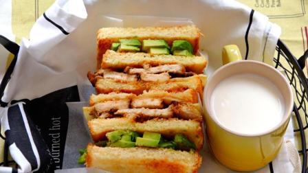 我的日常料理 第一季 腌熏鸡肉牛油果三明治