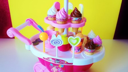 我的小马驹冰淇淋卡车儿童玩具