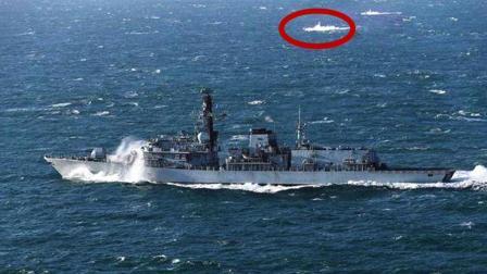 英国军舰刚到南海 身边立马出现16艘中国军舰 网友: 捅马蜂窝了