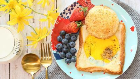 一片吐司两种吃法, 早餐不再犯难