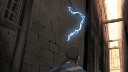 墻上居然會冒電?嚇的男子往后跳了下,這墻看起來不簡單啊