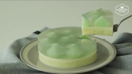 超治愈美食: 蜜瓜慕斯 Melon Mousse