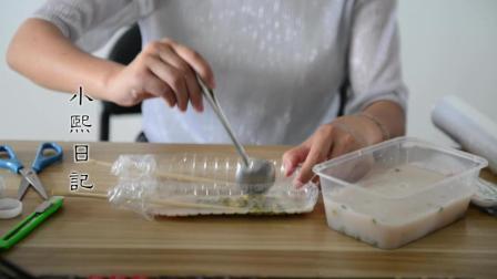 美女用1把绿豆, 1袋牛奶, 教你自制绿豆雪糕, 想吃不用花钱买了!