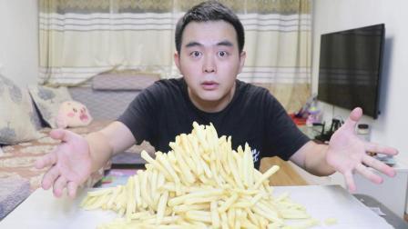 深夜饿的慌, 怒吃十份薯条, 这么多热量要跑多少步才减的回来