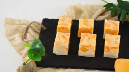 芒果椰奶冻—夏日清凉小甜点