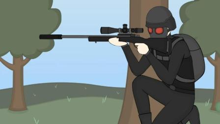 绝地求生: 狙击手太投入被后面人突袭了