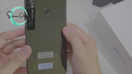 「撒姆sang开箱」荣耀Note10 8+128快速开箱上手