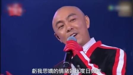 张卫健演唱会现场一首歌, 引全场观众忘我欢呼合唱, 无法超越