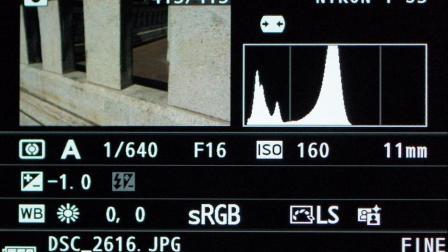 为什么专业摄影师老是看直方图?