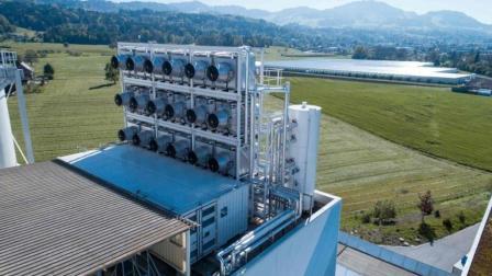 世界上第一台二氧化碳捕捉设备, 吸入二氧化碳排出氧气!
