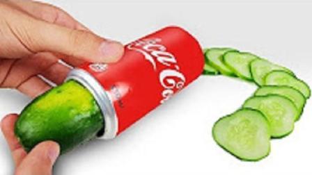 喝完的可乐瓶不要丢, 牛人17秒教你做面膜神器