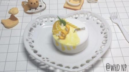 黄色黏土蛋糕制作过程教学