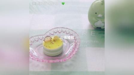抹茶柠檬慕斯蛋糕/愿生活充满一点绿