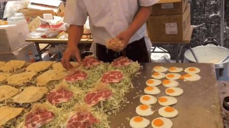"""号称日本""""煎饼果子""""的大阪烧, 馅料丰富, 看完被勾起无限食欲!"""