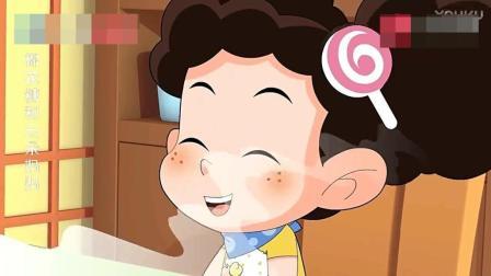 棉花糖给妈妈吃臭榴莲, 妈妈却猜成了香蕉和芒果, 棉花糖哈哈大笑