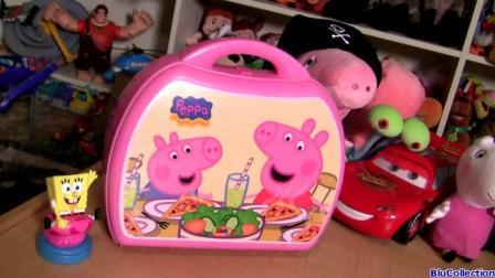 小猪佩奇制作迷你披萨新玩具