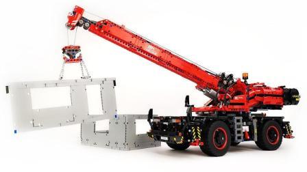 性价比很高的旗舰? 乐高LEGO科技组42082复杂地形起重机评测【月光砖厂】