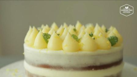 超治愈美食教程: 柠檬凝乳蛋糕 Lemon Curd Cake