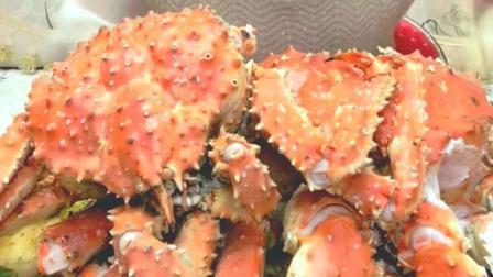 盐焗帝皇蟹美食小吃, 这种海鲜, 你知道要怎么煮才好吃吗