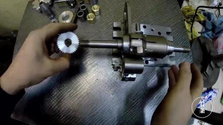 牛人自制的成品复印器, 用来批量加工一种零件, 反正我没看懂