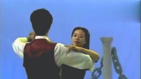 双人舞慢三步舞蹈教程学慢三步舞一步一步教交谊舞慢三步