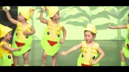 幼儿园小班舞蹈《小玉米》, 萌萌哒太可爱了!