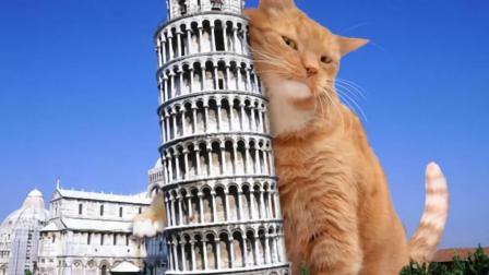动画解读比萨斜塔, 为什么斜而不倒, 原因如此奇葩