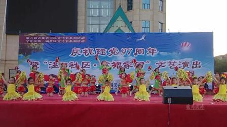 松原张萌卓舞蹈艺术学校《关东雪》-舞动东北原创舞蹈视频正式篇515