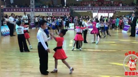 赤峰国际比赛伦巴双人舞蹈月月演出