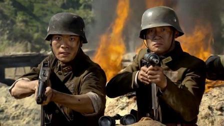 鬼子用战俘当肉盾攻击部队,一声中国弟兄们快卧倒!横扫小鬼子