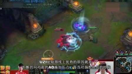 LOL: 中国队长? UZI世界第一ADC, 看国外知名玩家, 如何狗吹解说UZI