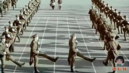 珍贵历史镜头, 苏联军队的队列训练, 这正步不错!