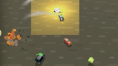 极地大逃亡 小汽车追逐比赛 别被抓了