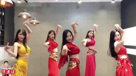 印度异域风情舞蹈, 全程盯着c位小姐姐, 你们说哪个小姐姐跳得好