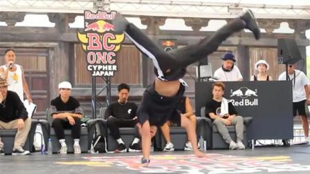 国外街舞Bboy Shigekix vs Ryo T One  breaking Top16. Red Bull BC Battle