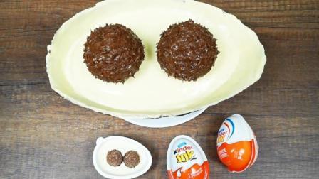 真实还原奇趣蛋, 就是放大了100倍, 孩子看到比蛋糕还激动!