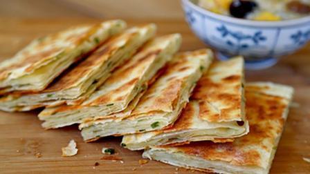 河南的美食——炉油饼, 你吃过吗? 农村大叔一口气能吃四个!