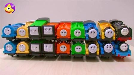 托马斯电动小火车动手拼装玩具 宝宝们一起开动脑筋吧
