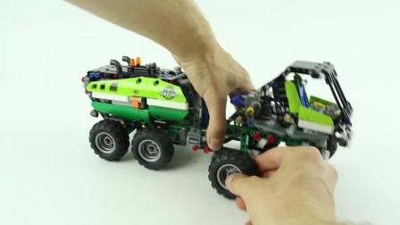 速装乐高Technic 42080森林收割机