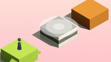 AE教程:小游戏跳一跳动效制作