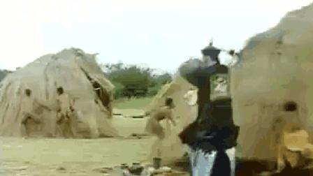 非洲人与林正英争抢僵尸, 九叔做法非洲人遭殃了