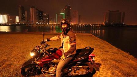 [修雷傲GW250骑行日记4]天津海滨之旅-摩托车耻辱加油