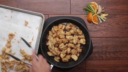 美国熊猫快餐正宗中式酸橙鸡肉制作
