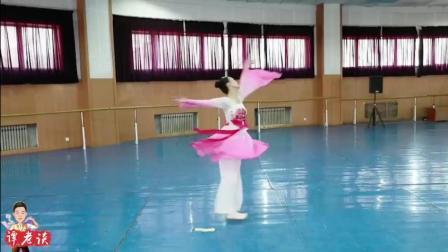 舞蹈艺考曲目古典舞《西厢记》练习, 表达崔莺莺与张生的爱恨纠葛